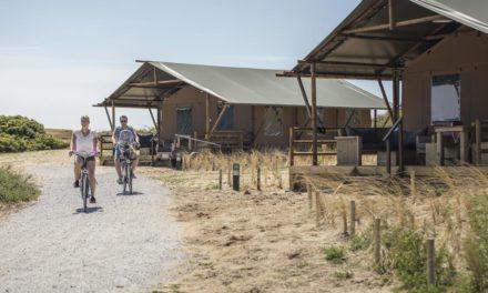 Camping Landal Sluftervallei | Luxe safaritenten op Texel